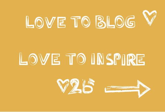 love to blog